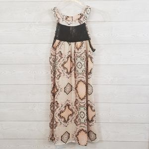 Speechless High Neck Lace Dress